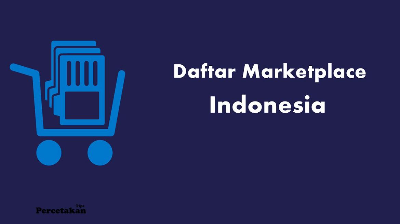 Cara Promosi Online dengan Mendaftar Toko Online Market Place